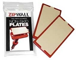 ZIPWALL Non Skid Plates 2-Pack (Replacement Pads)