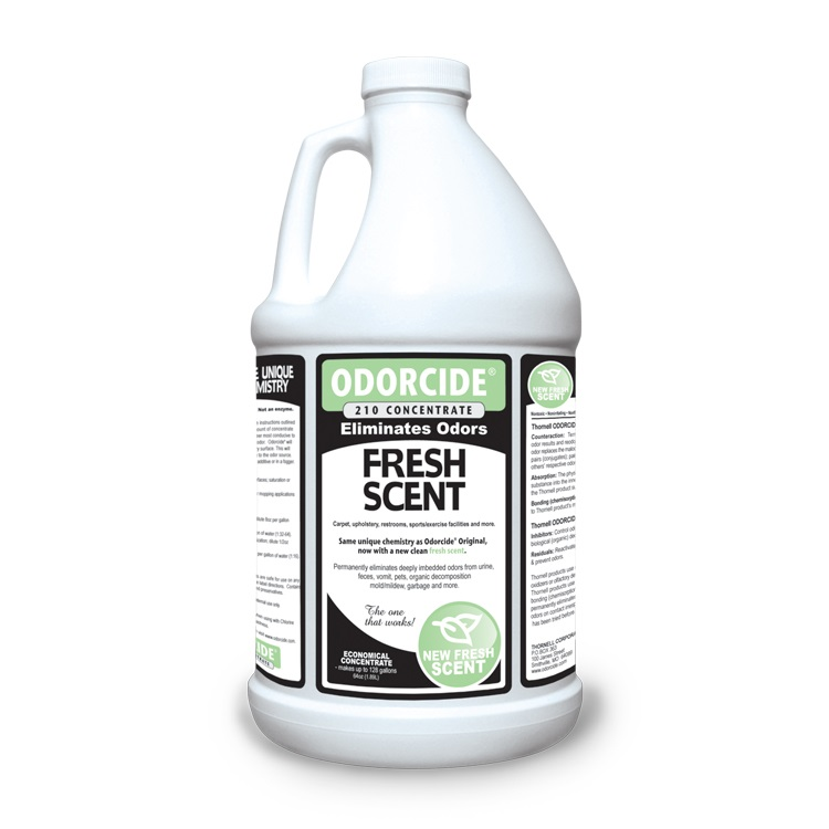 Odorcide 210 Concentrate 64 Ounces Fresh Scent Odor Remover