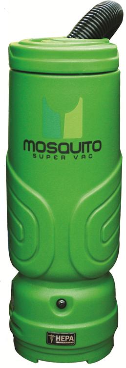 MOSQUITO Mosquito Backpack Vacuum Cleaner Super HEPA 10 Quart