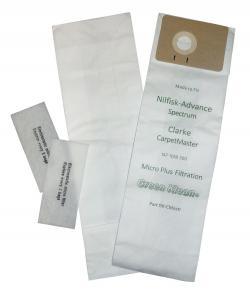 Nilfisk Advance Spectrum Vacuum Bags 10 Pack By Green Klean