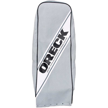 Oreck vacuum cloth outer bag gray hypo allergen for Outer cloth