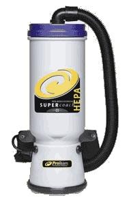 Pro Team Super Coach Backpack Vacuum Hepa