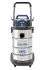 Powr-Flite 10 Gallon HEPA Wet Dry Vacuum With Stainless Steel Tank and Tool Kit PF59