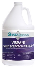 Groom Solutions Vibrant Carpet Extraction Detergent