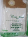 Windsor Versamatic Vacuum Bags 10 Pack by Green Klean