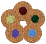 Spinergy Stone Polishing Pads 5 inch Set of 5