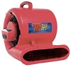 OmniDry 2.9 Amp Air Mover Red