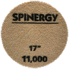 Spinergy Stone Polishing Pad Green 11,000 Grit 17