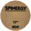 Spinergy Stone Polishing Pad Red 800 Grit 17