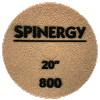 Spinegy 20 inch Stone Polishing Pad Red 800 Grit