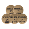 Spinergy Stone Polishing Pads 7 inch Set of 5