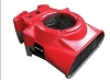 Syclone Low Profile Air Mover Red