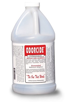 Odorcide 210 Concentrate Odor Remover 64 Ounce Regular Scent