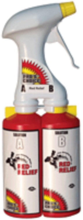 Pro's Choice Red Relief Dual Chamber Sprayer  AS93