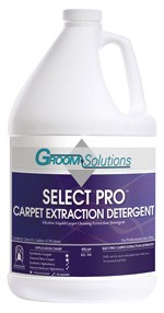 Groom Solutions Select Pro Carpet Extraction Detergent Case