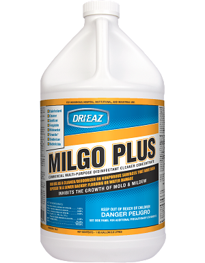 Milgo Plus Cleaner Deodorizer Disinfectant Case