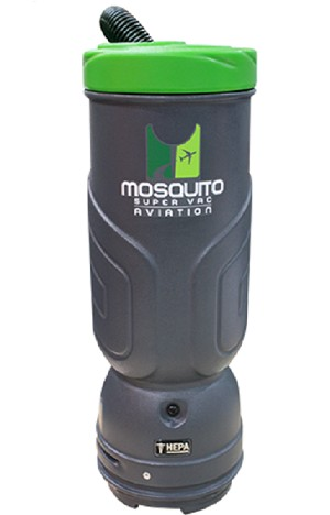 Mosquito Backpack Vacuum Cleaner Aviation HEPA 6 Quart